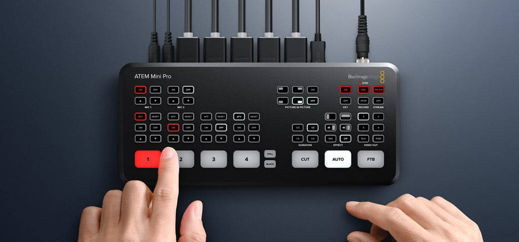 Blackmagic Design ATEM Mini Pro Reseller