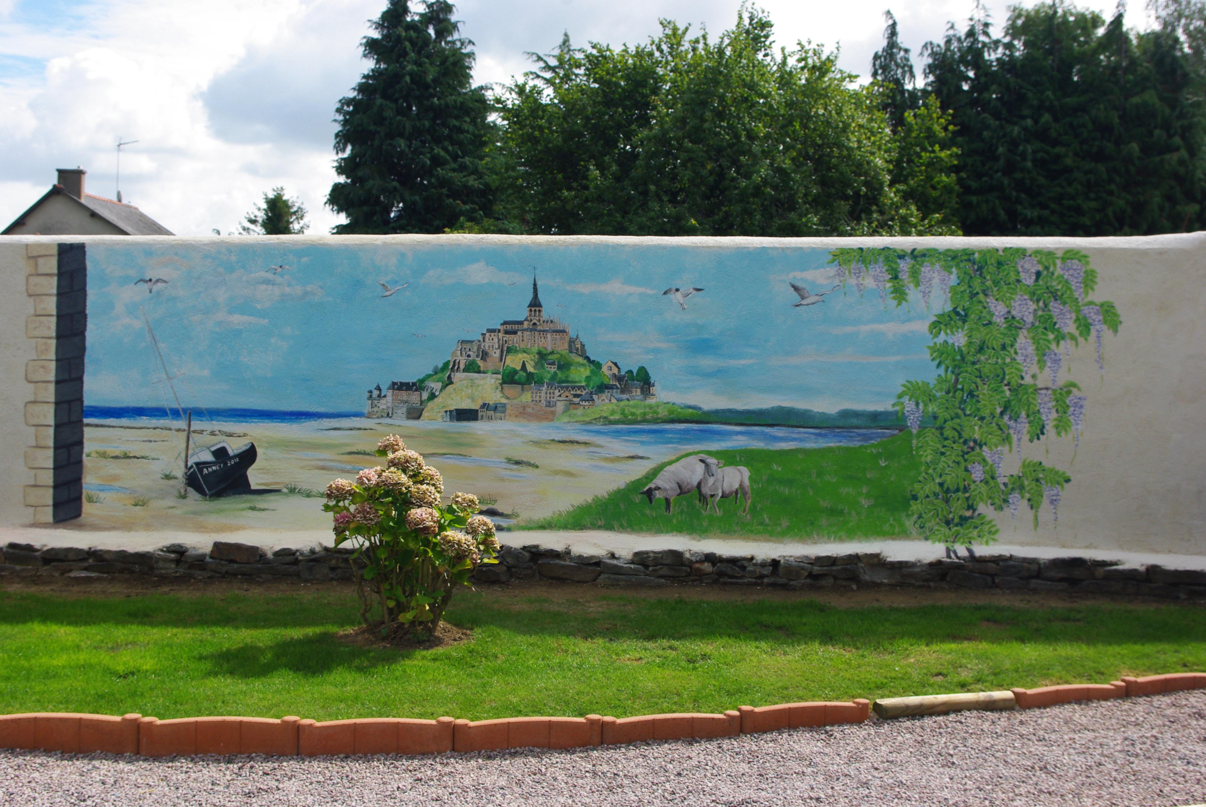 Fresque Carrelage Mural Exterieur Une Fresque Rvb