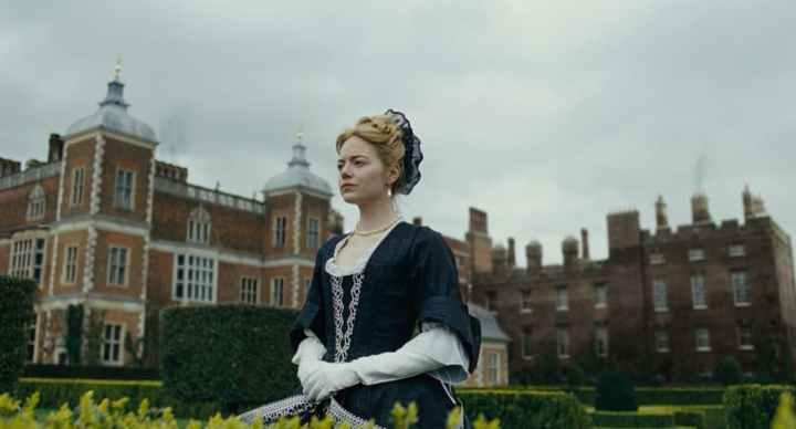 Emma Stone as Abigail Masham in The Favourite