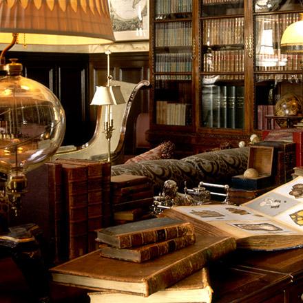 Ann Getty Associates  Gentlemans Library