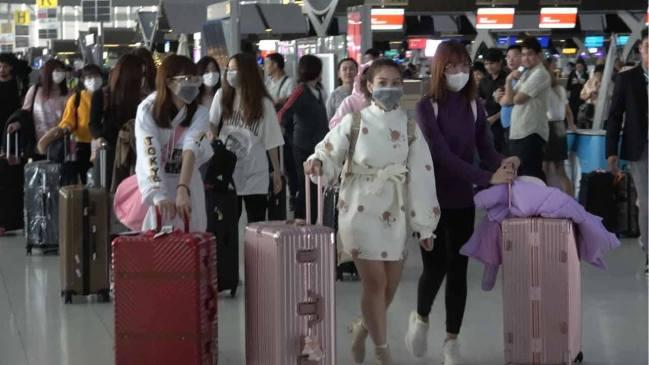 日本に向かうBNK48メンバー Photo by Tossy a Go Go