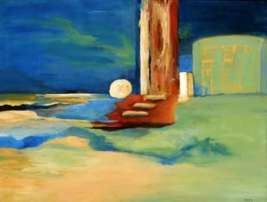 Heaven's Door, acrylic on canvas, 16x20. ©2012, Ann Hart Marquis