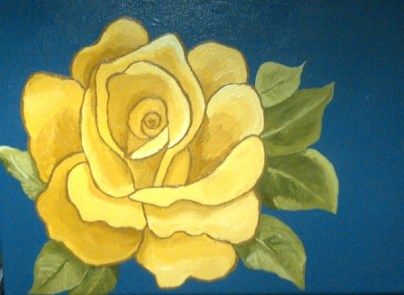 Yellow Rose-Betty Gatton-Spring, 2014