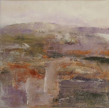 Ann Hart Marquis-New Mexico Winter #1-abstract