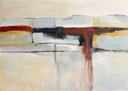 Ann Hart Marquis-New Mexico Winter #2-abstract