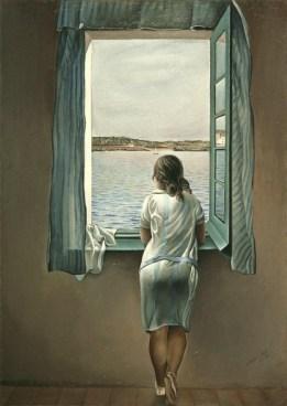 Salvador Dali-Person at the Window