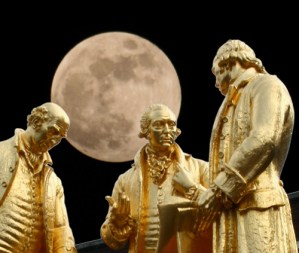 members of the Lunar Society meeting when the moon is full