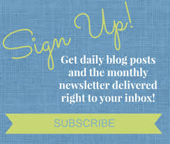 A sign up by email box on a blog