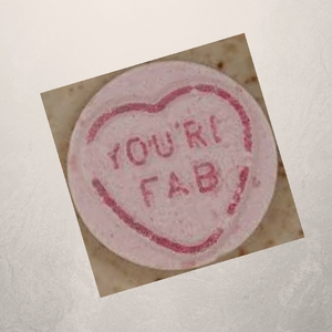 Love heart - you're fab