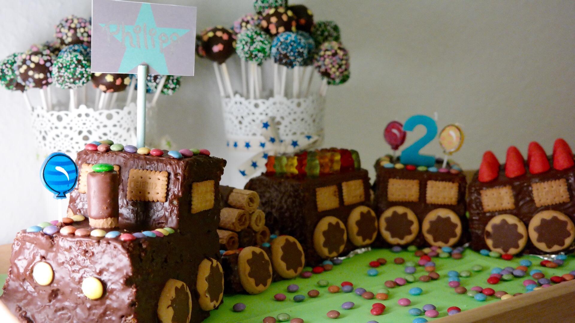 Zug Kuchen Fur Kindergeburtstag Rezept Kuchen Kindergeburtstag
