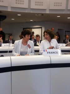 PHOTO 4 M.Touraine et A.Girardin - Bruxelles
