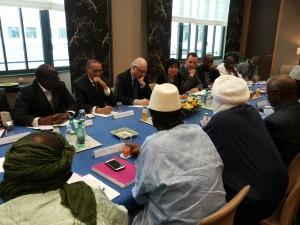 Rencontre avec la société civile malienne