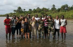 replantation de propagules dans le mangrove casamançaise