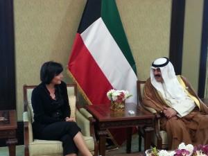 Avec le SEAE du Koweit Khalid Suleiman Al-Jarallah