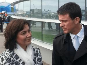 Avec Manuel Valls