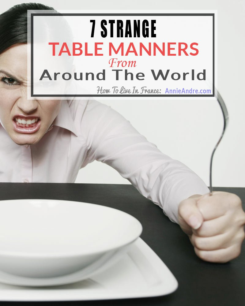 7 strange table manners around the world, burping, farting, slurping and more
