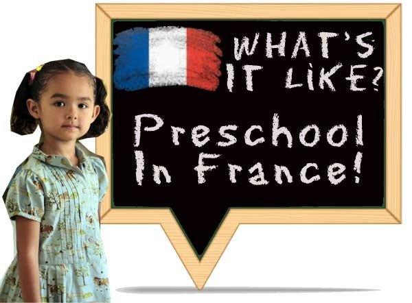 what's preschool in France like?