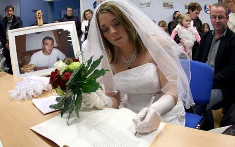 weird french law marry a dead person