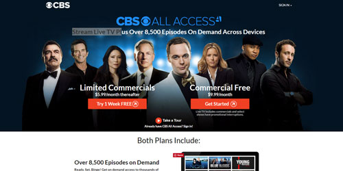 CBS all access now free trial