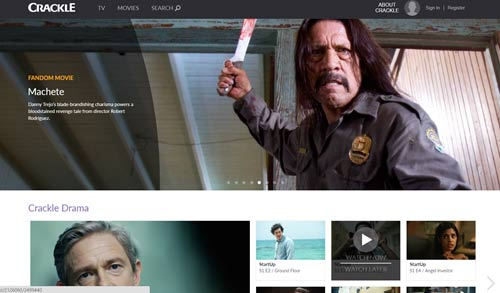 crackle free streaming movies online