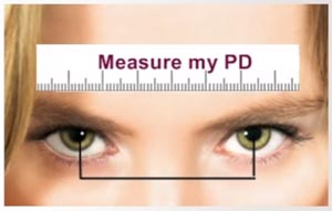 Measure your PD so you can order glasses online