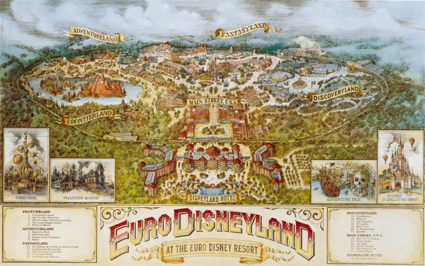 Disneyland Paris is the number one attraction in France and Europe