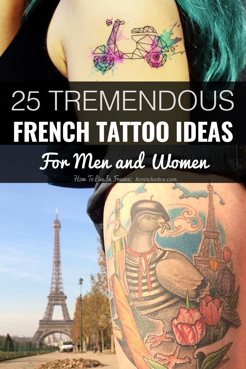 25 fabulous french tattoos ideas for men and women m4hsunfo
