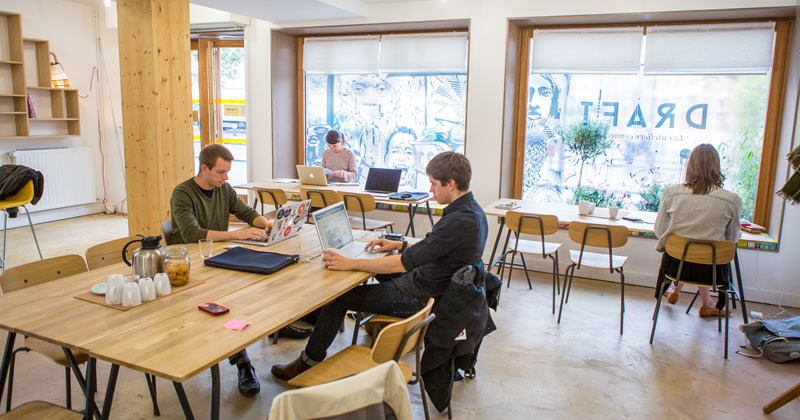 Draft is a coworking arts and crafts studio in Paris for budding designers and technology enthusiasts.