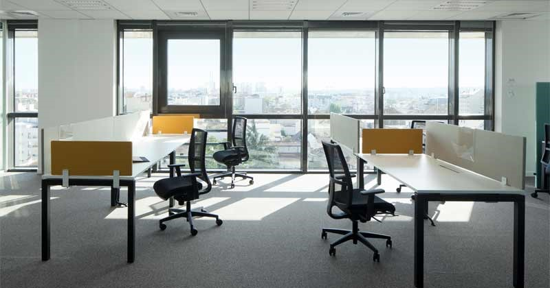BLUE OFFICE: is great co-working space in Paris for someone who needs to be more professional or needs the quiet.