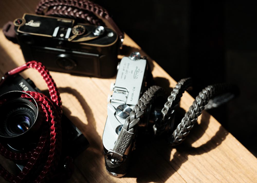 Leather Camera Straps Original Braided2