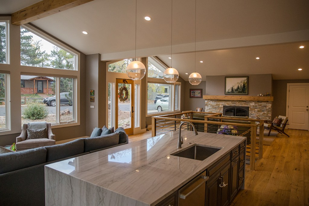 Web Design for General Contractor – Interior of fine home