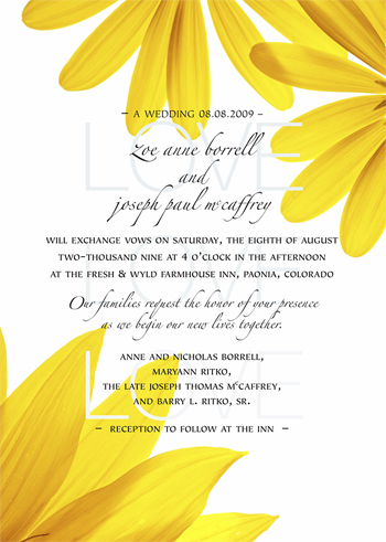 A Wedding Book – Wedding invitation design