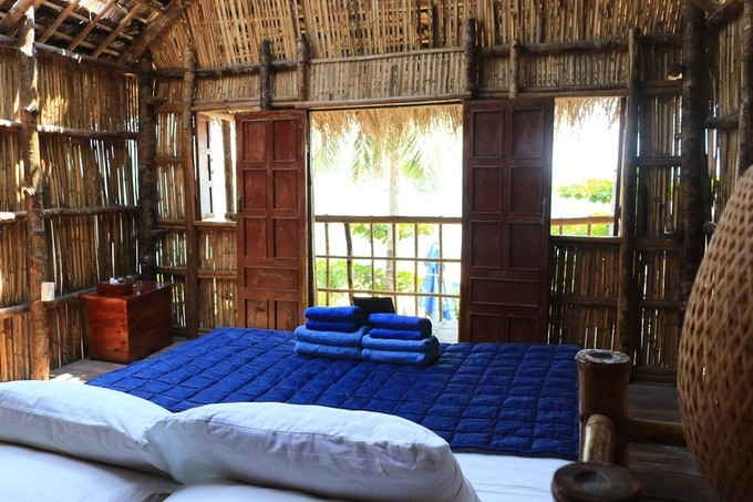 Room decoration at Life's A Beach homestay in Quy Nhon, Vietnam