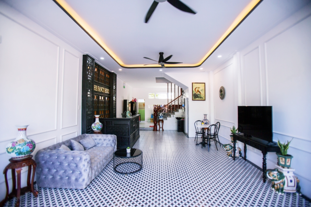 The Fancy House homestay in Quy Nhon, Vietnam