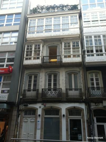 Picasso's house in Coruna