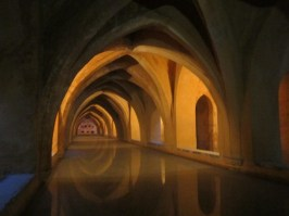Baths at Alcazar Seville