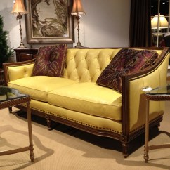 Sofa Furnitureland South Yellow Fabric Sectional Anniebeuker Page 2