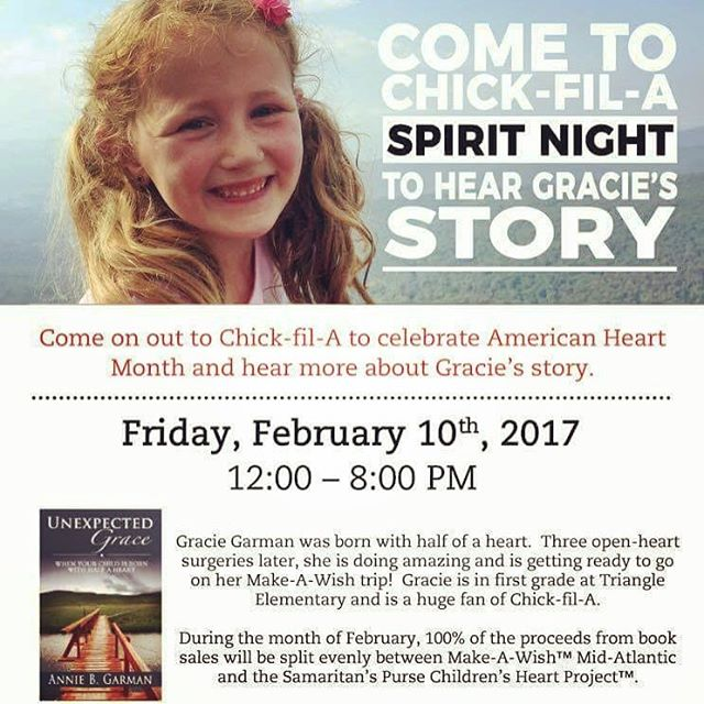 Virginia locals! Come to ChickfilA in Dumfries this Friday Februaryhellip