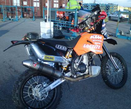 KTM 525 Super Rocket, Dakar 2010