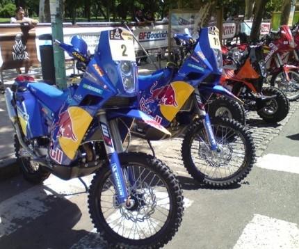 Cyrils Despres' KTM