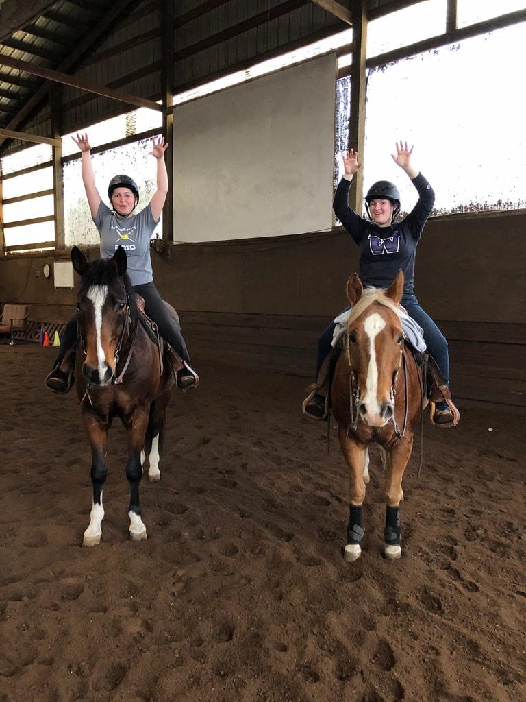 UW Equestrian Team - annie's portfolio