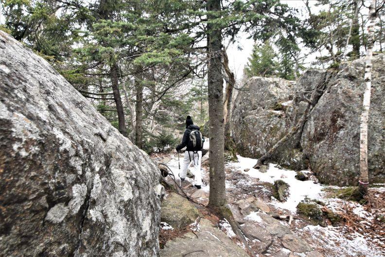 Annie Explore - mont Chauve
