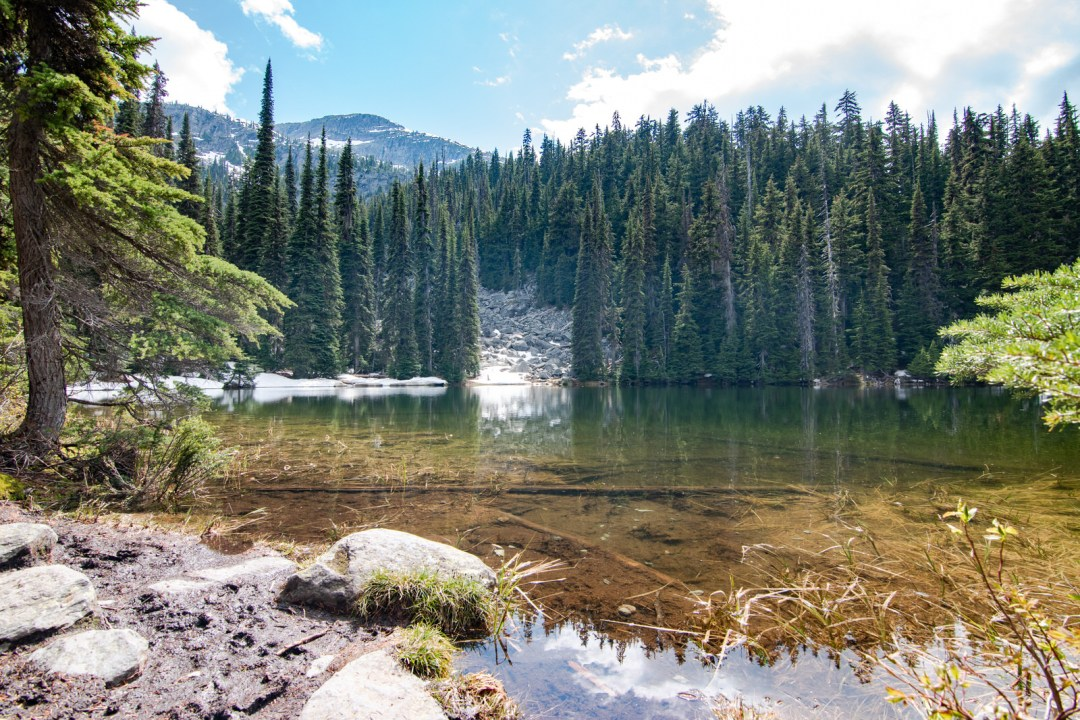 Lac Marion - Annie explore