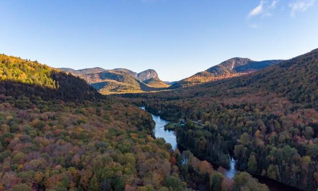 Vallée-bras-du-Nord en automne, un incontournable dans la région de Québec!