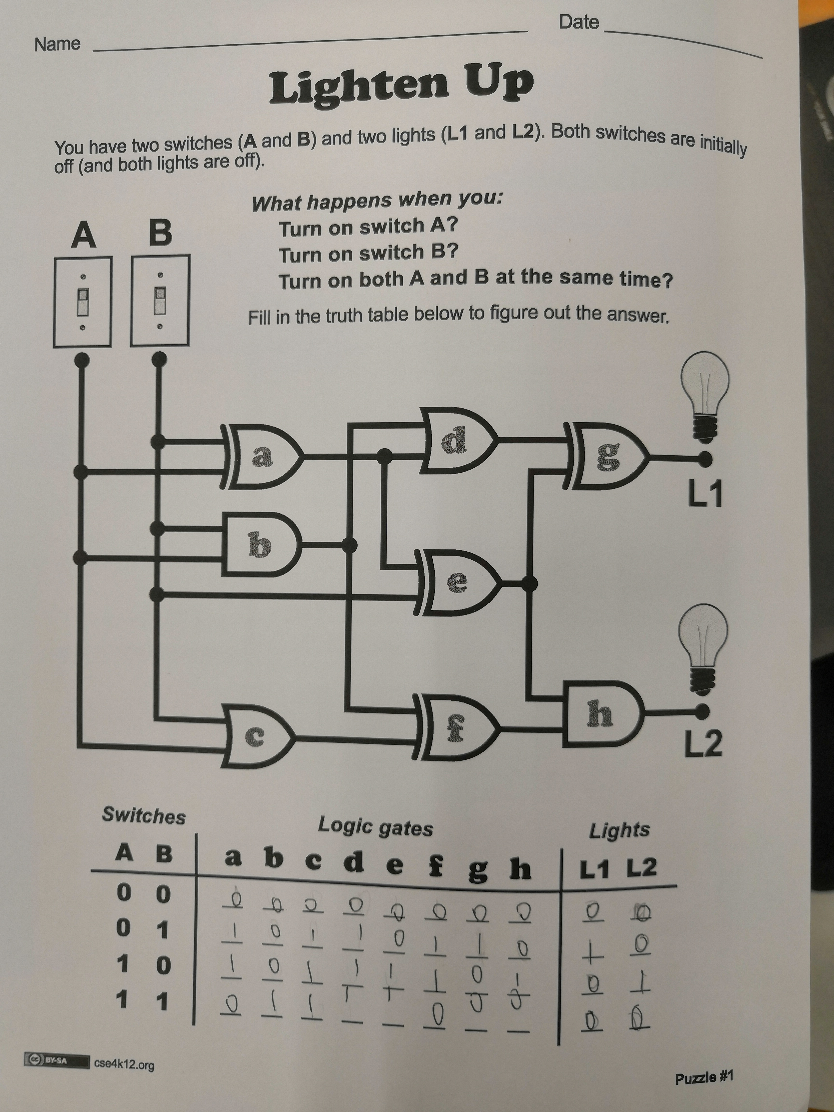 Week 4 Boolean Expressions Logic Gates And Truth Tables