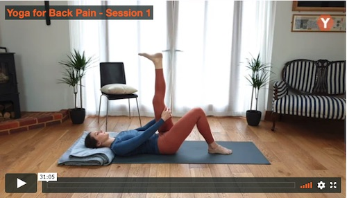 Yoga Stretch for Back Pain Relief from Yoga for Back Pain Program