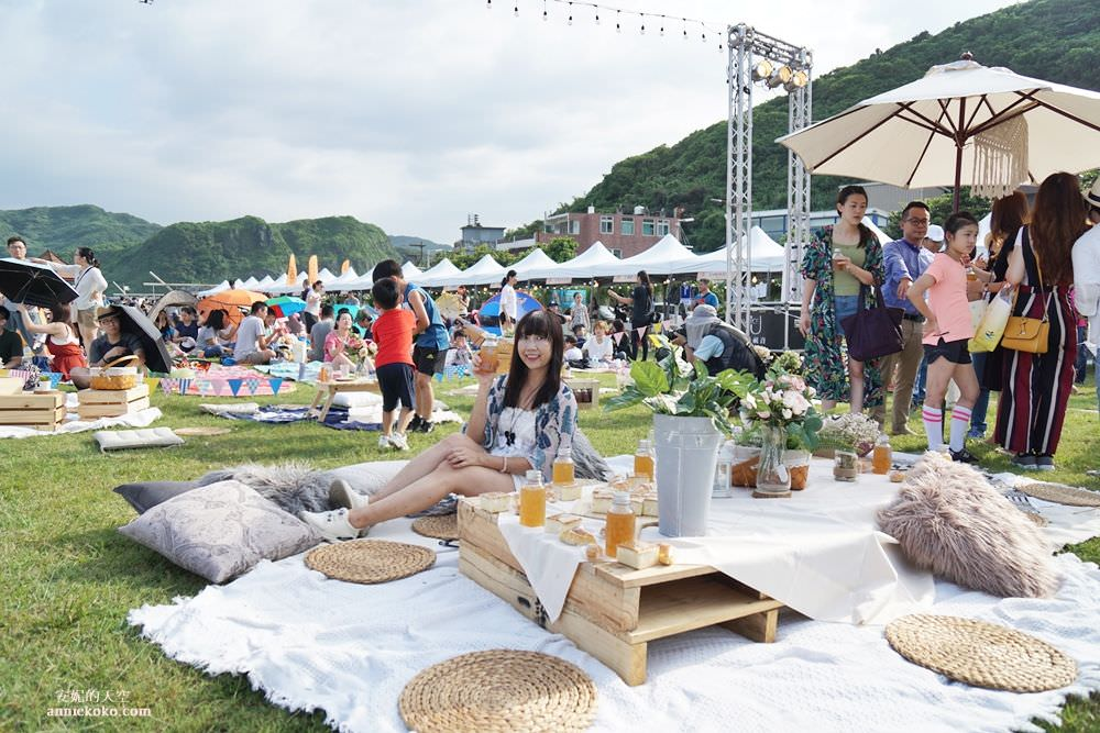 [基隆 潮境公園海灣節]潮音樂 海風音樂節 風格野餐派對 白色半島市集 用海風療癒的美好音樂會 - 安妮的天空