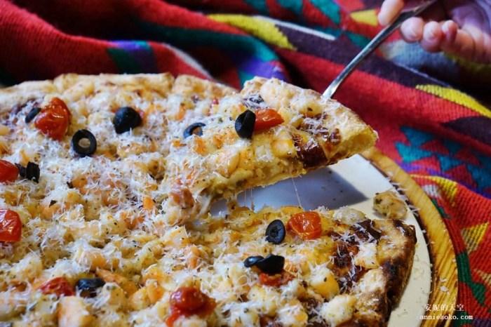 [松江南京站美食]  全台北最好吃炸雞竟然在披薩店 義大利米蘭手工窯烤披薩  節慶約會推薦餐廳