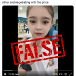"False: This video does not show Uyghur children ""being sold"" by Chinese traffickers"