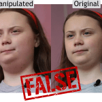 False: Images of Greta Thunberg's 'weight gain' are digitally manipulated